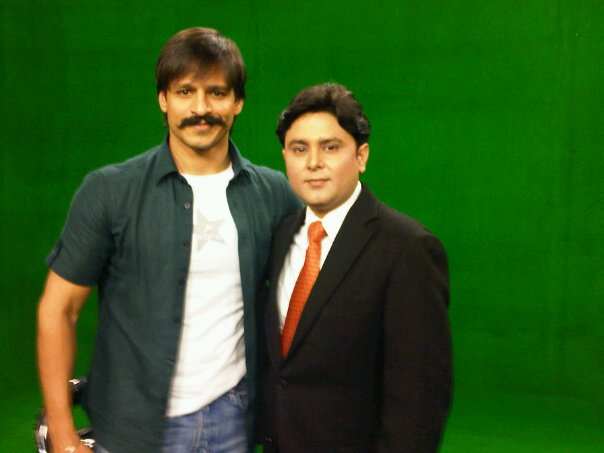 Celebrity Astrologer Sundeep Kochar with Vivek Oberoi