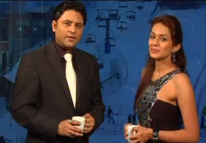 Celebrity Astrologer Sundeep Kochar with Juhi